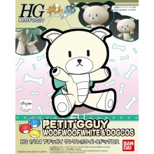 1/144 HGPG Petit'gguy WoofWoof White & Dog Cos