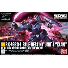 "1/144 HGUC RX-79BD-1 Blue Destiny Unit 1 ""EXAM"""