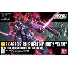 "1/144 HGUC RX-79BD-2 Blue Destiny Unit 2 ""EXAM"""