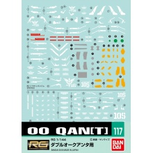 Gundam Decal 117 - 1/144 RG OO Qan[T]