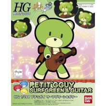 1/144 HGPG Petit'gguy Surf Green & Guitar