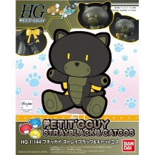 1/144 HGPG Petit'gguy Stray Black & Cat Cos