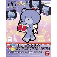 1/144 HGPG Petit'gguy Rumpumpum Purple & Drum