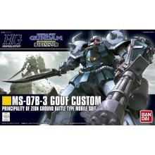 1/144 HGUC Gouf Custom