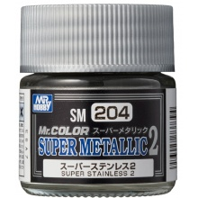 Mr.COLOR SUPER METALLIC 2 Super Stainless 2