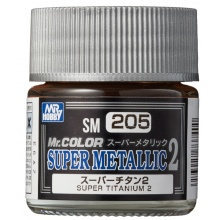 Mr.COLOR SUPER METALLIC 2 Super Titanium 2