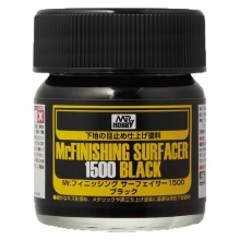 Mr.FINISHING SURFACER 1500 BLACK (40 ml)