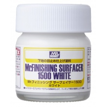 Mr.FINISHING SURFACER 1500 WHITE (40 ml)