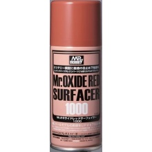 Mr.OXIDE RED SURFACER 1000 SPRAY (170 ml)