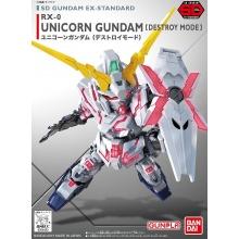 SD Gundam EX-Standard - Unicorn Gundam [Destroy Mode]