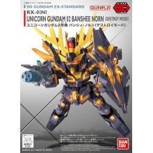 SD Gundam EX-Standard - Unicorn Gundam 02 Banshee Norn [Destroy Mode]