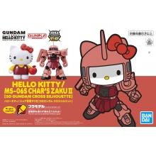 Hello Kitty / MS-06S Char's Zaku II [SD Gundam Cross Silhouette]