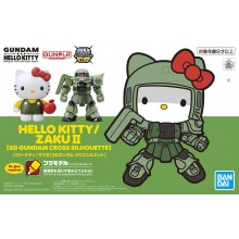 Hello Kitty / MS-06F Zaku II [SD Gundam Cross Silhouette]