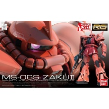 1/144 RG MS-06S Zaku II Char Aznable's Custom