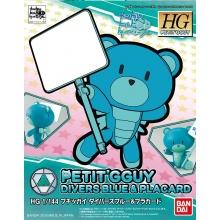 HGPG 1/144 Petit'gguy Divers Blue & Placard