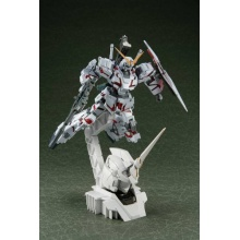 HGUC 1/144 RX-0 Unicorn Gundam [Destroy Mode] + 1/48 Head Display Base