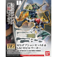 1/144 HG MS Option Set 8 & SAU Mobile Worker