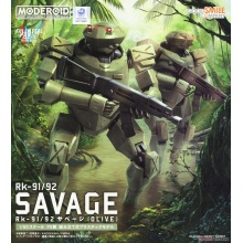 1/60 Moderoid Full Metal Panic! Invisible Victory - Rk-91/92 Savage (OLIVE)