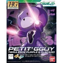 1/144 HGPG Petit'gguy Tieria Erde Purple & Placard