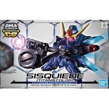 SD Gundam Cross Silhouette: LRX-077 Sisquiede (Titans Colors)