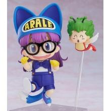 Nendoroid Arale cat ears & Gatchan