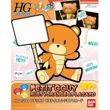 HGPG 1/144 Petit'gguy Rusty Orange and Placard