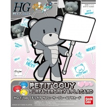 HGPG 1/144 Petit'gguy Surfacer Grey and Placard