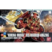 1/144 SDBF Kurenai Musha Red Warrior Amazing