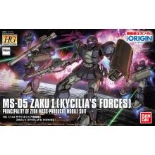 1/144 HG Zaku I (Kycilia's Forces)