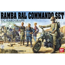 1/35 U.C. Hard Graph HG Ramba Ral Commando Set