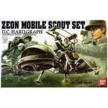 U.C. HARD GRAPH 1/35 Zeon Mobile Scout Set