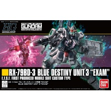 "1/144 HGUC RX-79BD-3 Blue Destiny Unit 3 ""EXAM"""
