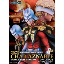 [PREORDER] 1/8 Gundam Guys Generation: Mobile Suit Gundam - Char Aznable Art Graphics