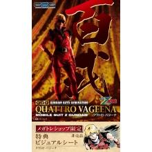 [PREORDER] 1/8 Gundam Guys Generation: Mobile Suit Zeta Gundam - Quattro Bajeena