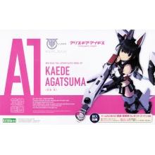 Megami Device x Alice Gear Aegis - Kaede Agatsuma