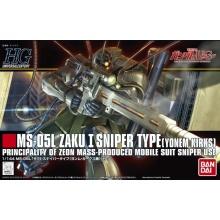 1/144 HGUC MS-05L Zaku I Sniper Type (Yonem Kirks Custom)