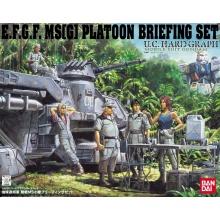 1/35 U.C. Hard Graph E.F.G.F. MS[G] Platoon Briefing Set